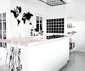 black, blackandwhite, and interior image