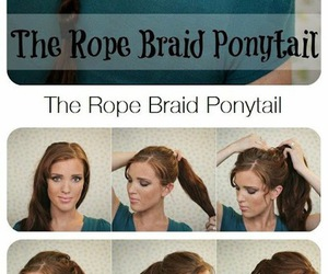 diy, tutorial, and how to hair image