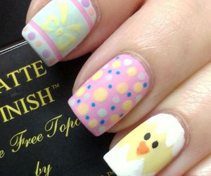 easter, nail art, and lovely image