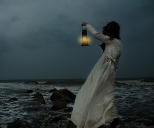 sea, fantasy, and light image