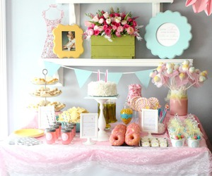 party and pastel image