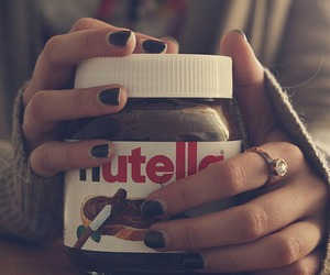 love it, nutella, and sweet image