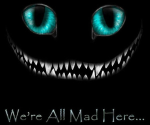 alice in wonderland, smile, and cat image