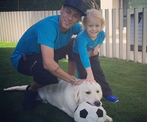 neymar, dog, and davi lucca image