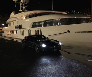 car, luxury, and yacht image