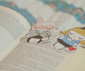 book, cute, and alice in wonderland image