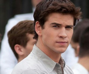 gale, liam hemsworth, and hunger games image