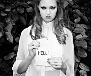 hell, model, and lindsey wixson image