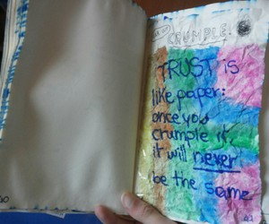 crumple, Paper, and trust image