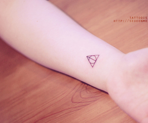 deathly hallows, hp, and reliquias de la muerte image