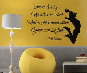 dancing and wall decals image