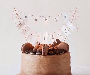 cake, b-day, and chocolate image