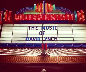 david lynch, Moby, and theatre image