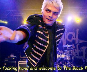 mcr, my chemical romance, and black parade image