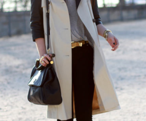 bag, clothes, and woman image