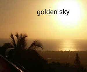 golden, landscape, and sunset image