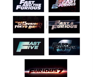 fast and fast and furious image