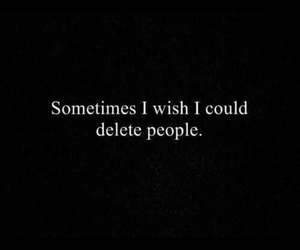 people and delete image