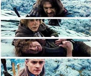gandalf, moria, and goodbye image