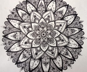 black and white, desenho, and pen image