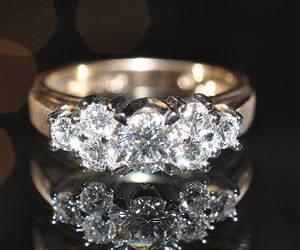 rings, love, and diamonds image