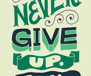 art, give up, and motivation image