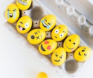 emoji, eggs, and easter image