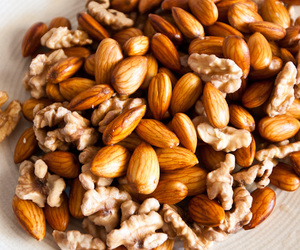 food, food styling, and nuts image