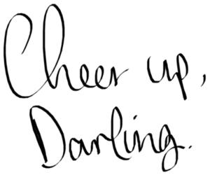 quote, darling, and love image