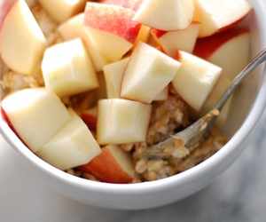 food, apple, and healthy image