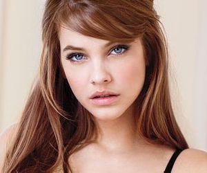 beauty, brown hair, and makeup image
