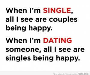 quotes, single, and happy image