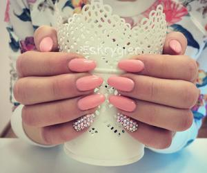 nails, beautiful, and nail polish image