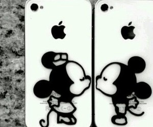 iphone, fundas, and mikey image