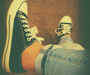 black, girly, and converse image