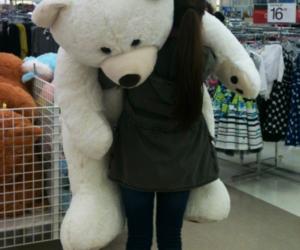 girl, inspiration, and stuffed animal image