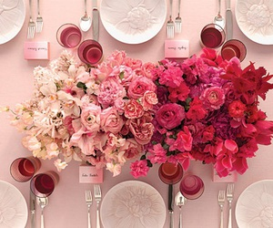 ceremony, table settings, and flower image