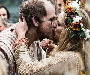 vikings, wedding, and floki image