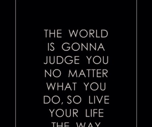 life, live, and judge image