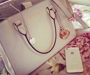 iphone, Michael Kors, and bag image