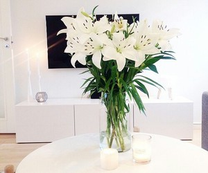 flowers, home, and lily image