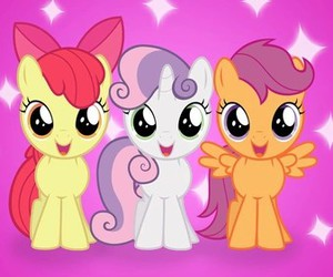 friendship, scootaloo, and love image