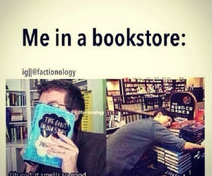 book, me, and tumblr image