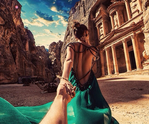 dress, travel, and jordan image