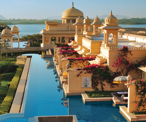hotel, india, and places image
