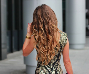hair, girl, and fashion image