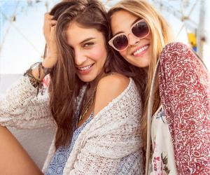 fashion, ferris wheel, and sunglasses image