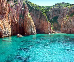 summer, corse, and landscape image