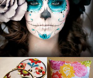 art, makeup, and mexico image