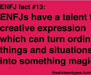 ENFJ facts  shared by Karla Reyes on We Heart It